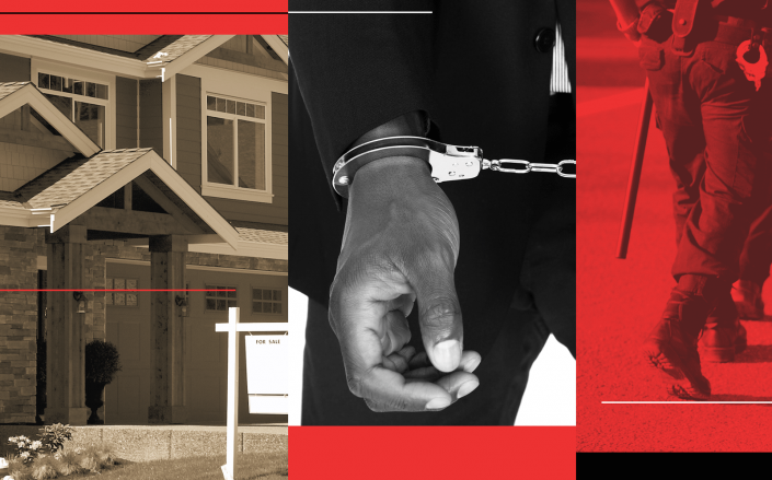 The realtor pointed towards race as a factor in the police officers' response. (iStock)