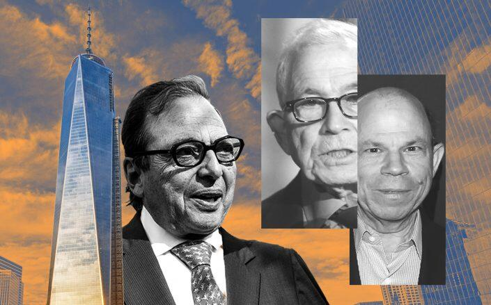 From left: One WTC, Douglas Durst, Donald and Steven Newhouse (iStock, Getty)