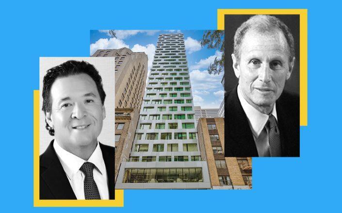 Hilton Grand CEO Mark Wang, 12 East 48th Street and Henry Silverman of 54 Madison Partners (Hilton, Rinaldi, 54 Madison)