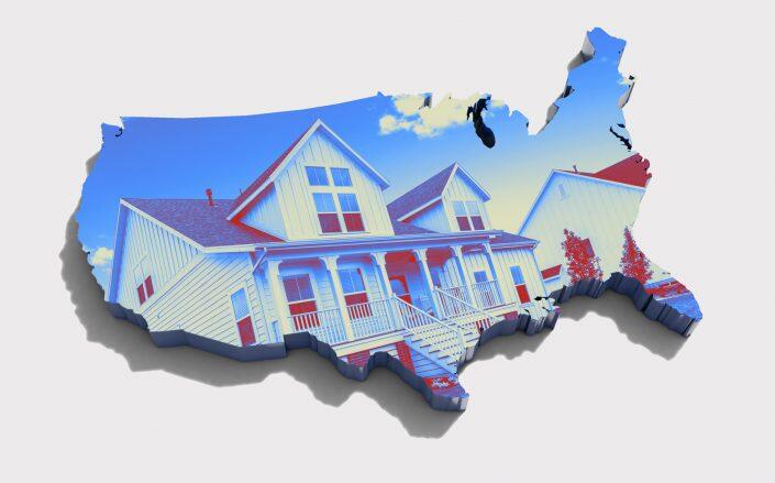 The median price of an existing single-family home was at least 10 percent higher in the second quarter than a year ago. (iStock)