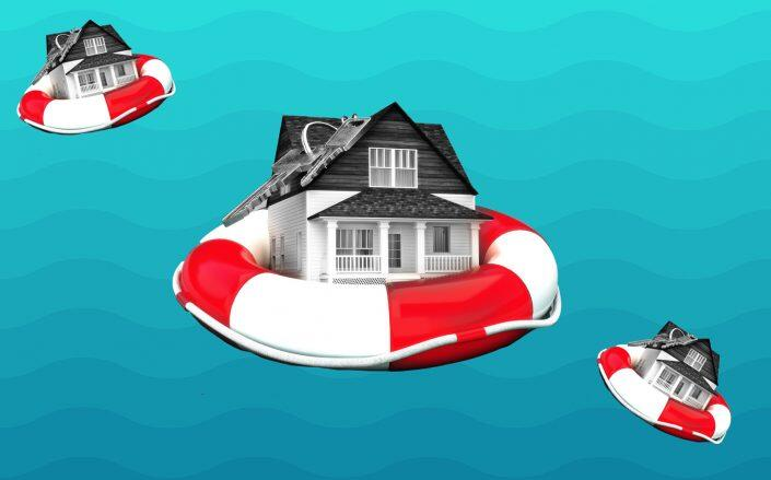 The number of seriously underwater homes dropped from 3.5 million at the end of 2019 to 2.25 million by the end of 2021's second quarter. (iStock)