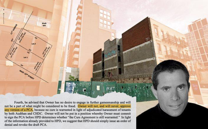 """At wits' end over stalled project, """"Skybox Chelsea"""" developer sues partner"""