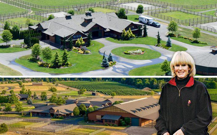 Barb Ellison, ex-wife of Larry, lists 200-acre equestrian ranch for $20M