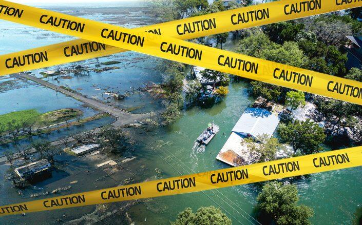 Rising sea levels could cause flooding and threaten coastal home values. (iStock)