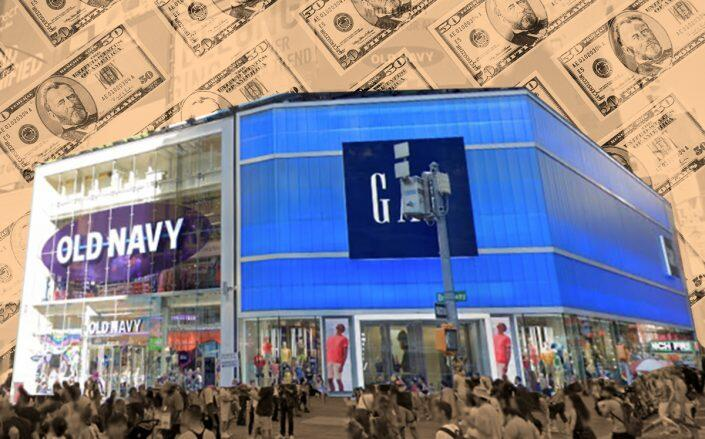 Gap ordered to pay millions in back rent at Times Square flagship