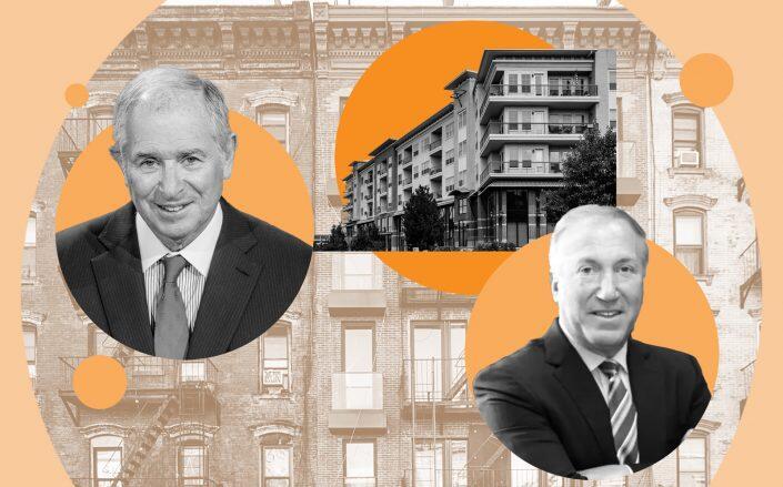 Blackstone CEO Stephen Schwarzman and Morgan Properties CEO Mitchell Morgan (Getty, Morgan Properties, iStock)