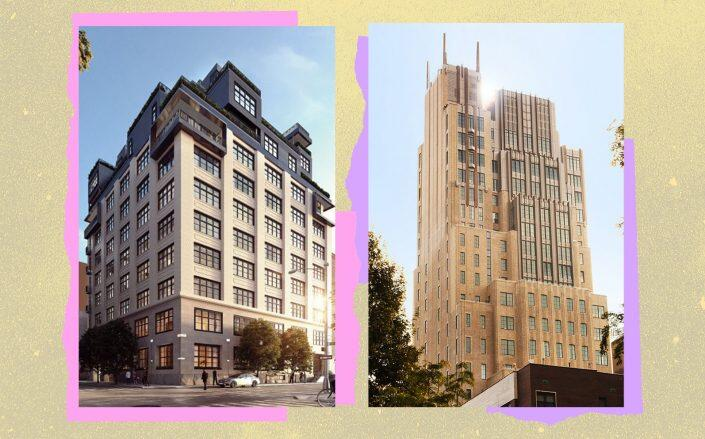 90 Morton Street and 212 West 18th Street (Photos via 90MortonSt and JDS)