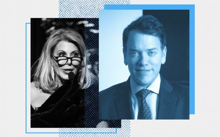 Former Douglas Elliman CEO Dottie Herman and Scott Durkin