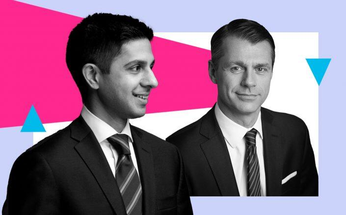 Brookfield Reinsurance CEO Sachin Shah and Brookfield Property Partners CEO Brian Kingston (Brookfield)