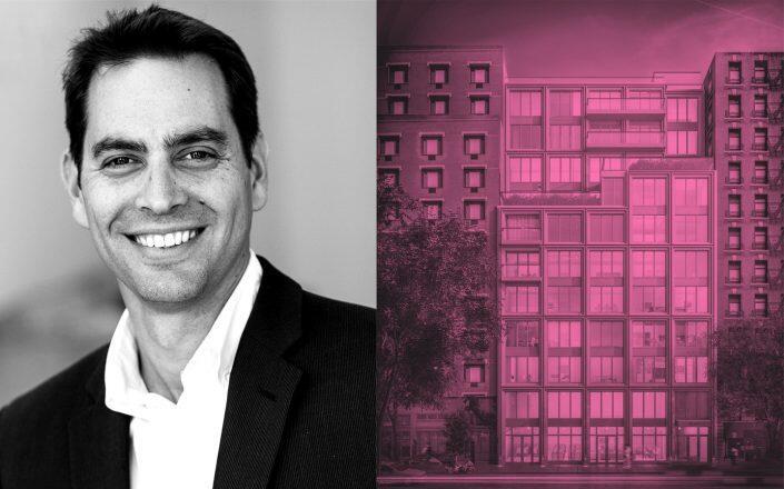 Northwind Group managing partner Ran Eliasaf and 165 Lexington Avenue (Northwind Group, Brooklyn North Capital)
