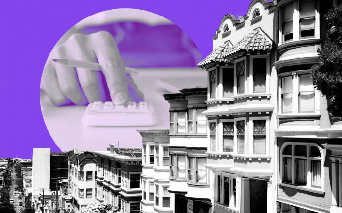 """Homes are """"affordable"""" for less than 20 percent of SF residents (iStock)"""