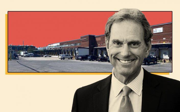 511 Barry Street and CenterPoint Properties CEO Bob Chapman (CBRE, GI Partners)