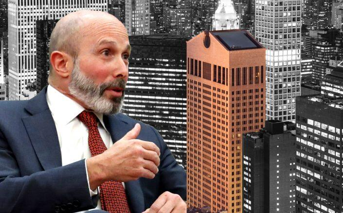 550 Madison Avenue and Chubb Group CEO Evan Greenberg (Getty, 550 Madison)