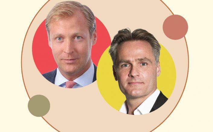 Engel & Völkers CEO Sven Odia and Permira managing partner Kurt Björklund (Engel & Völkers, Permira)