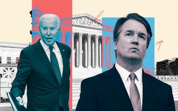President Joe Biden and Justice Brett Kavanaugh (Getty, iStock)