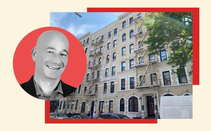 50-58 East 3rd Street and Gaia Real Estate CEO Danny Fishman (LinkedIn)