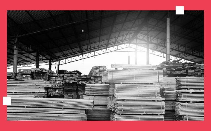 The lumber roller coaster ride continues, with nearly half of manufacturers and dealers now claiming excess inventory after shortage earlier this year. (iStock)