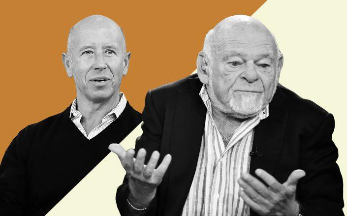 Starwood CEO Barry Sternlicht and Equity founder Sam Zell (Getty)