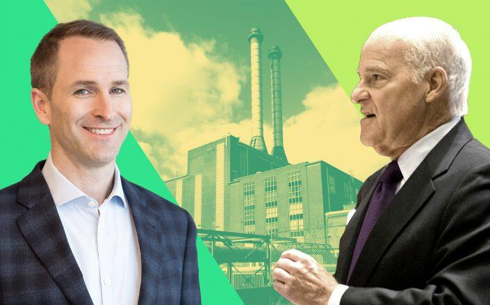 Oxford Properties Group President Michael Turner and KKR Co-Ceo Henry Kravis (Oxford, Getty)