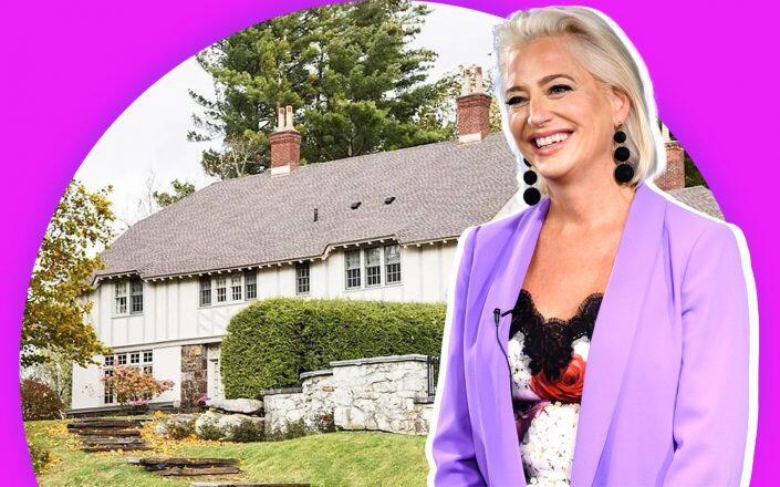 Dorinda Medley and Blue Stone Manor (Getty, Airbnb/Mick Hales)