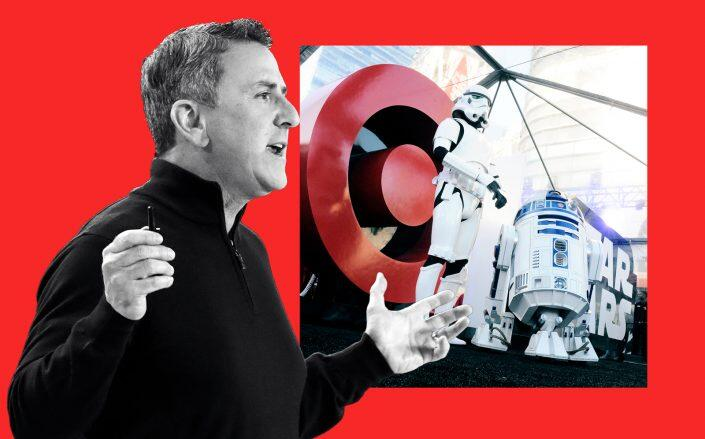 Target CEO Brian Cornell (Getty)