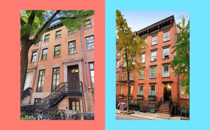 30 Grove Street and 79 Horatio Street (Isaacs Ganz Real Estate, Sotheby's)