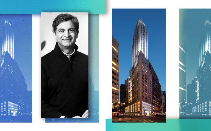 1450 Broadway and WeWork CEO Sandeep Mathrani (JLL, WeWork)