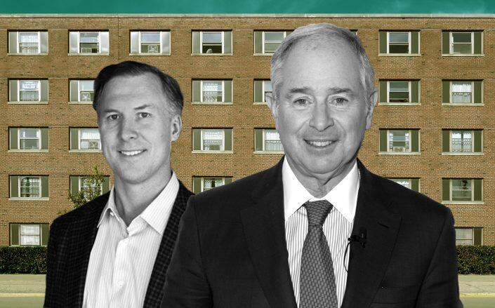Landmark Properties CEO J. Wesley Rogers and Blackstone CEO Steven Schwarzman (Landmark, Getty)