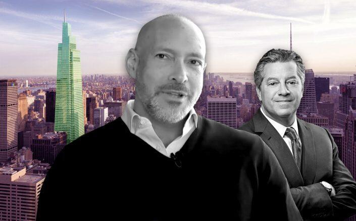 One Vanderbilt, Stone Ridge CEO Ross Stevens, SL Green CEO Marc Holliday (SLG, YouTube via  NYDIG)