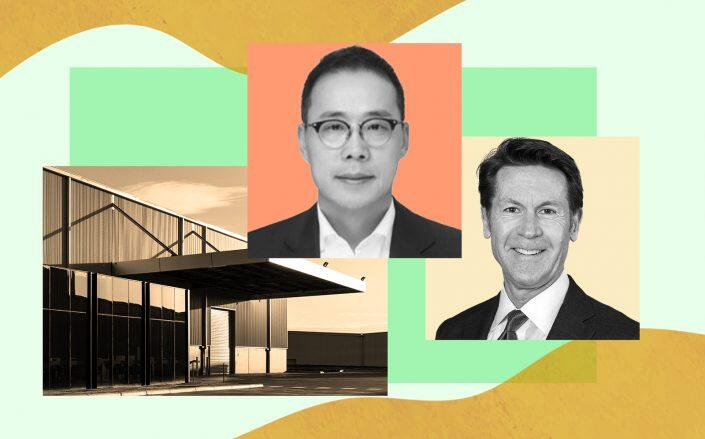 LB Asset Mgmt CEO HyungSuk (Hans) Kim and AIG Global Real Estate CEO Douglas Tymins (AIG, LinkedIn)