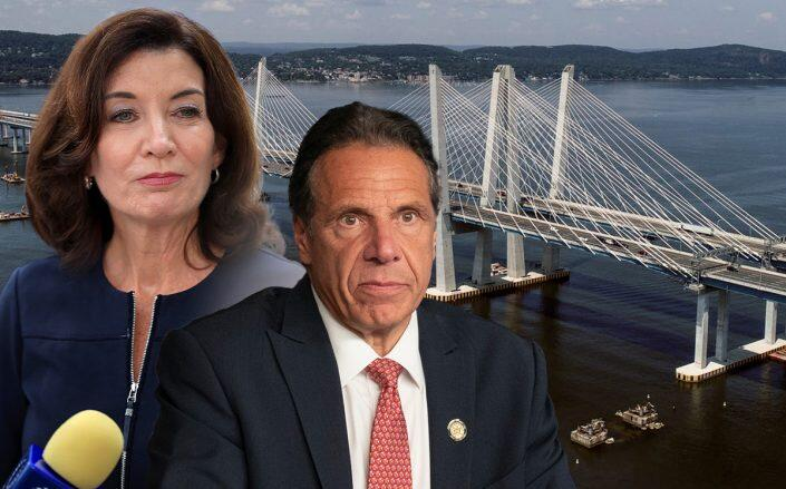 Hochul urged to resolve Mario Cuomo Bridge dispute