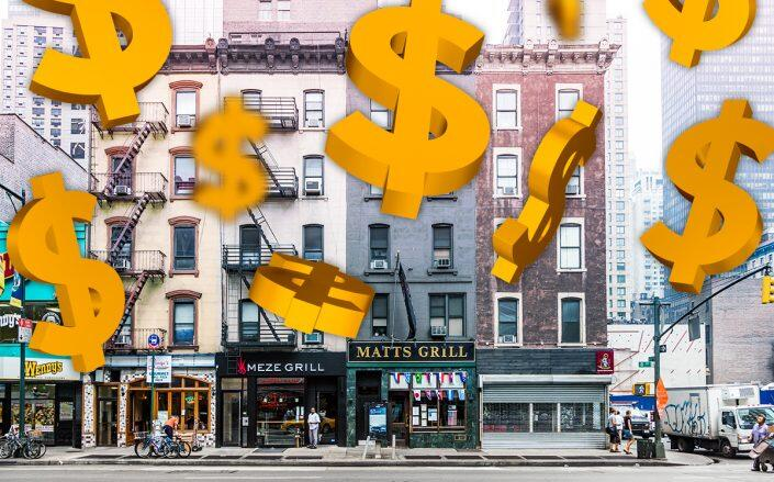 Retail asking rents declined across Brooklyn this summer