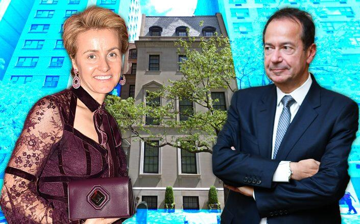 Here are the homes that billionaire Paulsons will spar over in divorce