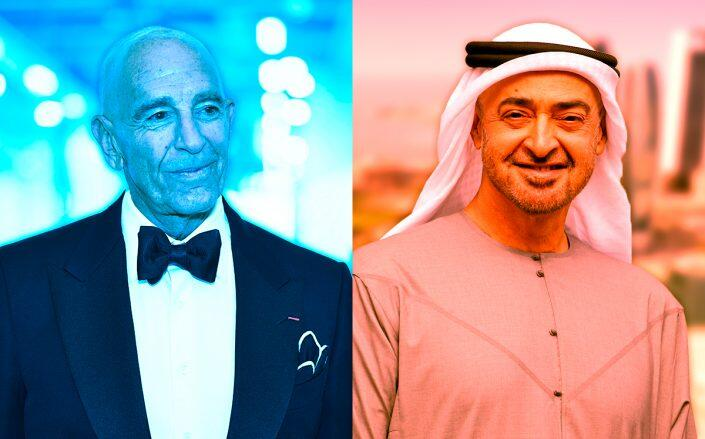 Tom Barrack's influence campaign reportedly steered by UAE Royals