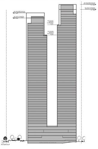 Plans for the two-tower project