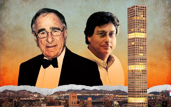Macklowe Properties CEO Harry Macklowe, CIM Group Co-Founder Richard Ressler and 432 Park Avenue (Getty, CIM)