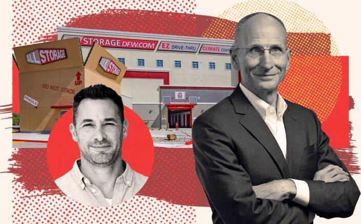 All Storage CEO Jay Schuminsky and CBRE CEO Bob Sulentic (All Storage, CBRE)