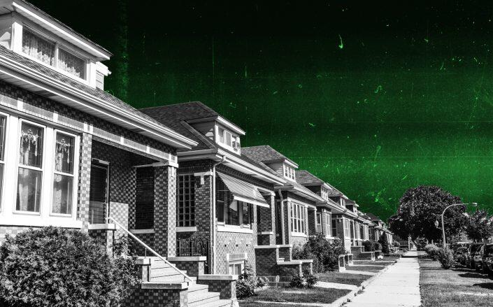 In Illinois, one in every 3,848 housing units received a foreclosure filing last month. (iStock)