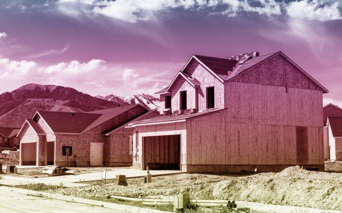 Builders broke ground on more homes in August than had been predicted, as multifamily development surged. Single-family home construction, however, fell below expectations. (iStock)