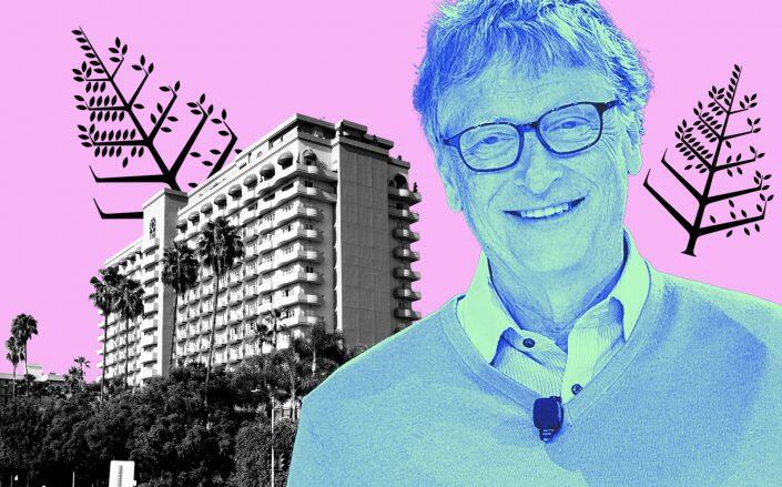 Bill Gate and the Four Seasons in Beverly Hills (Getty)