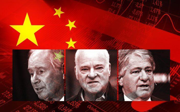 Blackstone Group's Stephen Schwarzman, KKR's Henry Kravis and Apollo's Leon Black (Getty, Facebook, iStock)