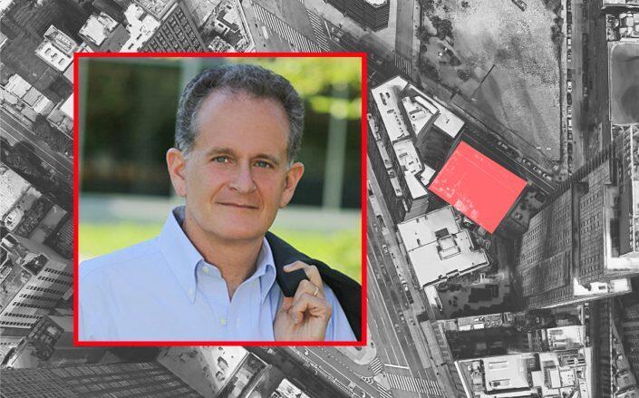 Davis Companies CEO Jonathan Davis and 570 Fulton Street (Davis Companies, Google Maps)