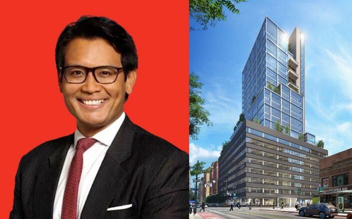Cove Property Group's Kevin Hoo and 441 Ninth Avenue (Cove Property Group)