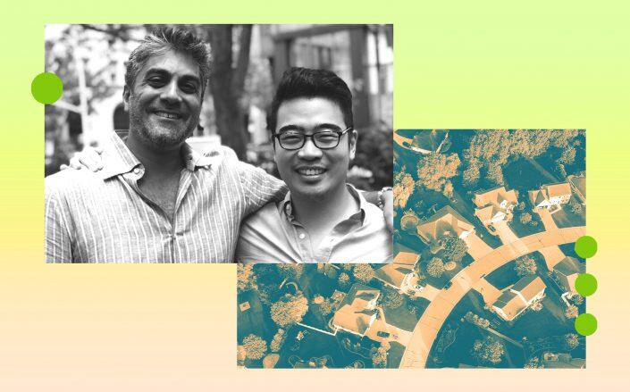 Ribbon co-founders Shaival Shah and Wei Gan (Ribbon, iStock)