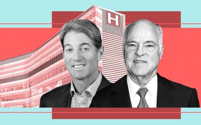 Cornerstone Companies CEO J. Taggart Birge and KKR Co-Chairman Henry Kravis (Cornerstone, Getty, iStock)