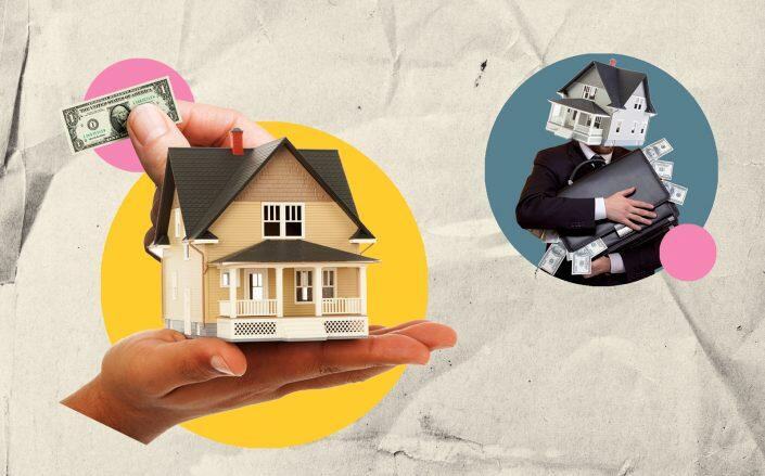 A recent report by Harvard's Joint Center for Housing Studies shows mom-and-pop landlords were hit harder than big firms by rental delinquencies. (iStock)