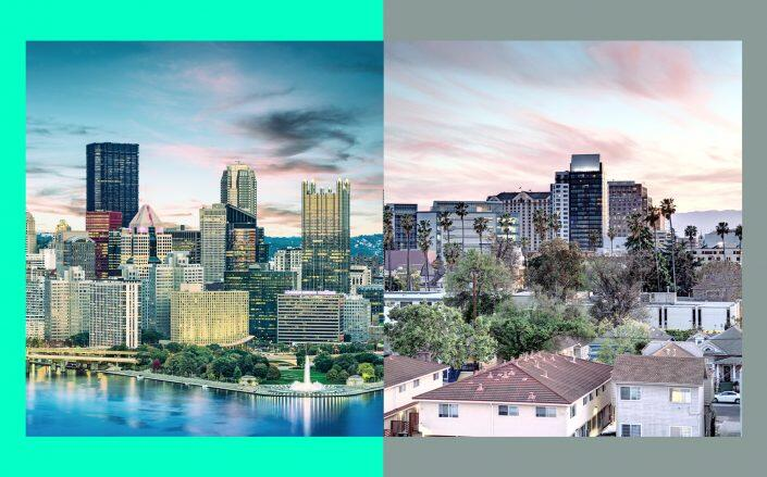 Pittsburgh is the place to be for affordable mortgage payments. San Jose and San Francisco? Not so much. (iStock)