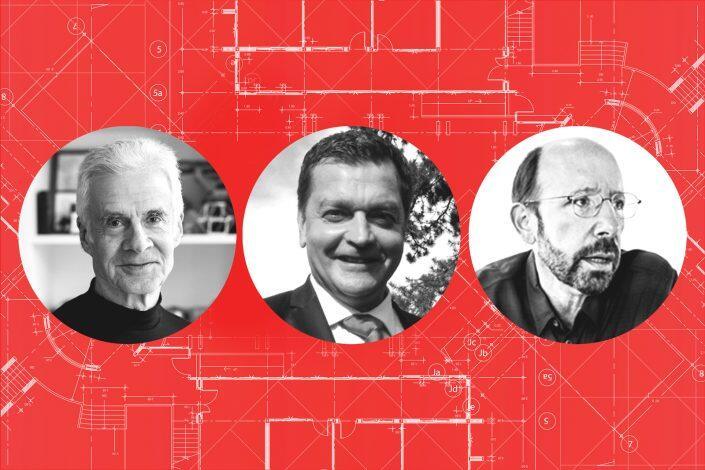 Richard Dattner of Dattner Architects, Anthony Morali of Morali Architects, Gene Kaufman of Gene Kaufman Architect P.C.
