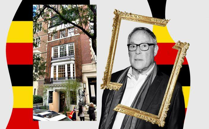 Asher Edelman and 111 East 70th Street (Getty, Google Maps, iStock)
