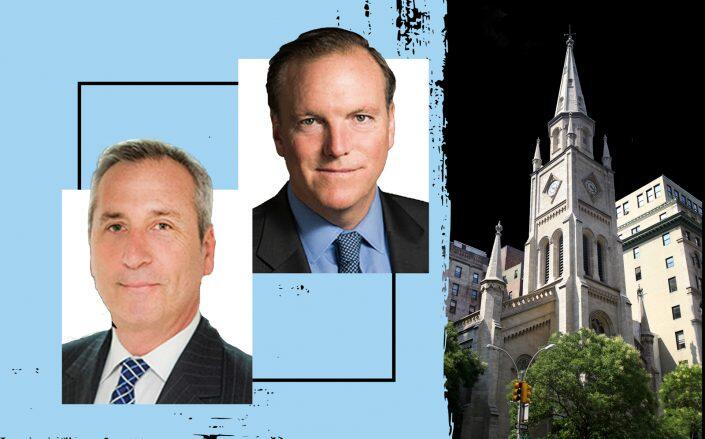 Vanbarton Group's Gary M. Tischler and Richard Coles with Marble Collegiate Church at 1 West 29th Street (Getty)